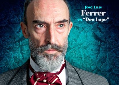 José Luis Ferrer interpreta a DON LOPE