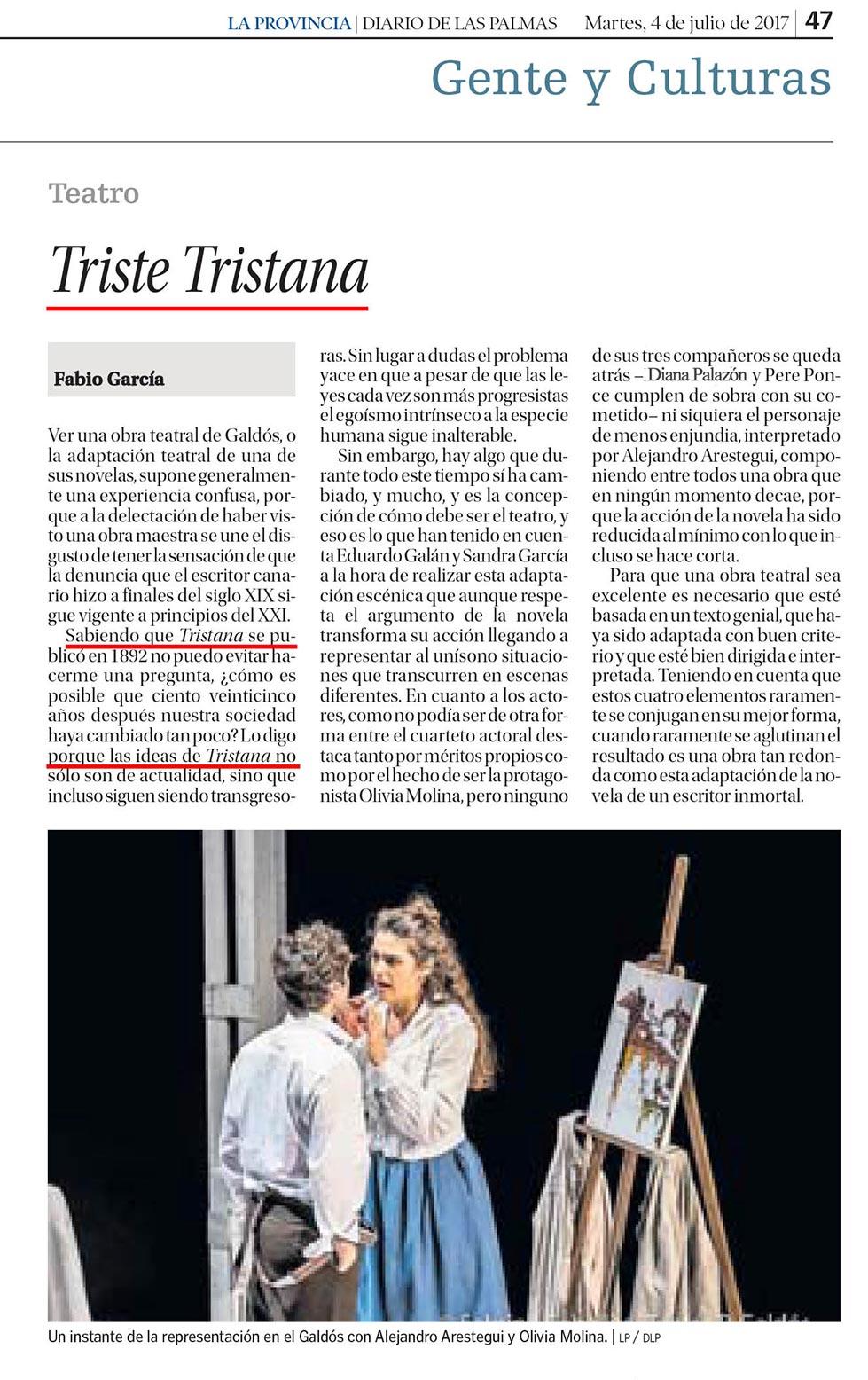 Tristana - PRENSA