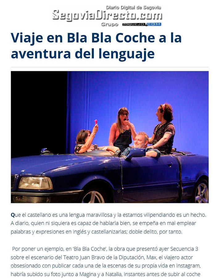 BlaBlaCoche - PRENSA