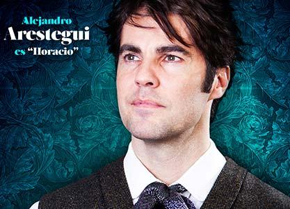 Alejandro Arestegui interpreta a HORACIO