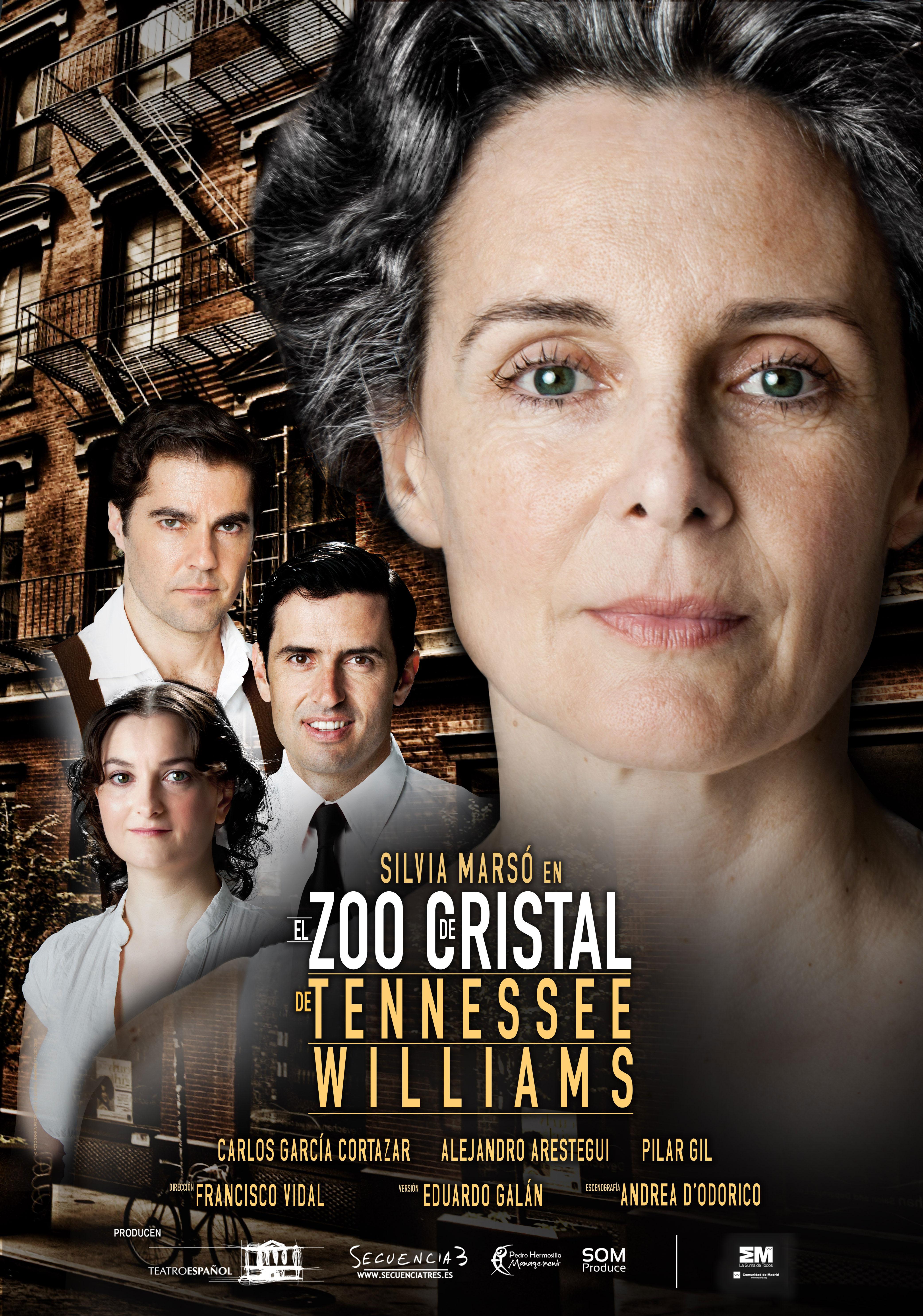 El Zoo de Cristal - CARTEL
